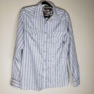 Billabong Western Style Pearl snap shirt